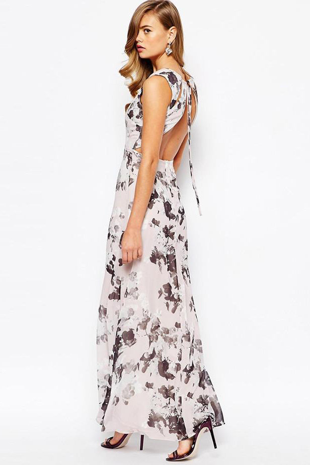 Chicloth Sexy halter chiffon Dress-Chicloth