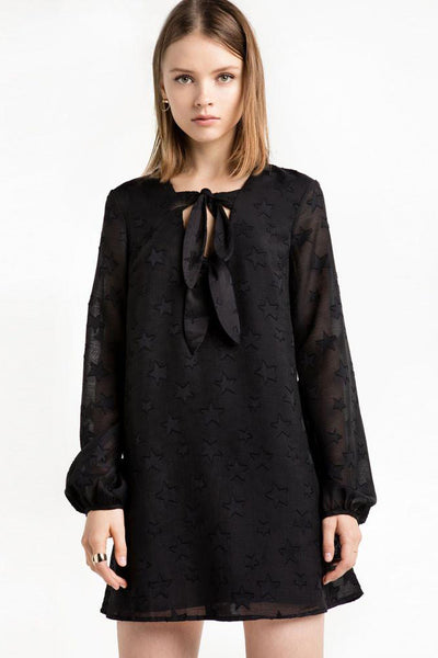 Chicloth Black Lace Mini Dress - Chicloth
