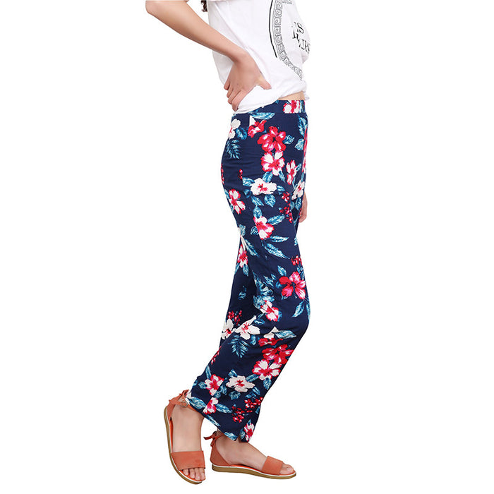 Chicloth Floral Long Straight Bottom-Chicloth