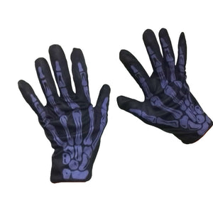 Chicloth Skeleton Halloween Party Cosplay Gloves - Chicloth