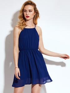 Chicloth Harness Blue Dress