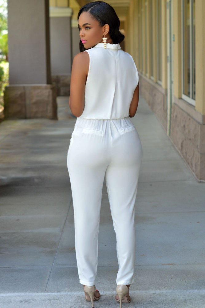 51734df52804 Chicloth Luxe White Jumpsuit-New Jumpsuits 1703-Chicloth