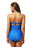 Chicloth Scalloped Edge Maillot One Piece Swimsuit-One piece Swimwear-Chicloth