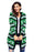 Chicloth Black Green Reindeer Geometric Christmas Cardigan-Women's Clothes||Sweaters & Cardigans-Chicloth