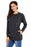 A| Chicloth Black Casual Pocket Style Women'S Sweatshirt-Coats-Chicloth