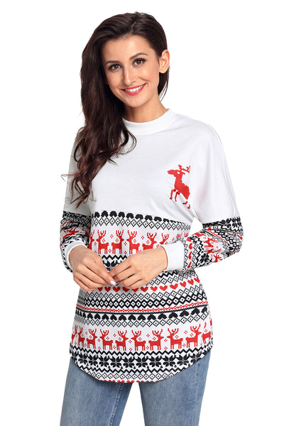 Chicloth Christmas Sweater Spirit Jersey
