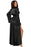 A| Chicloth Black Glamour Valentine Long Robe-Casual Dresses-Chicloth