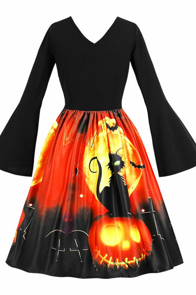 B| Chicloth Halloween Vintage Flare Sleeve Pin