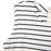 Chicloth Scoop Neck Striped Mini Dress-Chicloth
