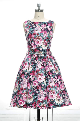 Chicloth Natural Beauty Princess Floral Dress-Chicloth