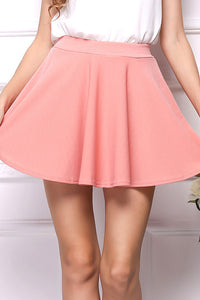 B| Chicloth Fashion Summer Sweet Pleated Skirt Women Preppy Style - Chicloth