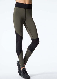 Sexy Women Contrast Splice Sports Leggings Yoga Running Skinny Slim Tights