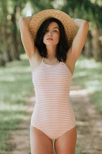 A| Chicloth Peachy Keen One-piece Swimsuit - Chicloth