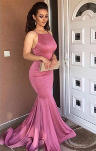Gorgeous 2018 Prom Dresses Mermaid Spaghetti Straps Sexy Party Dresses