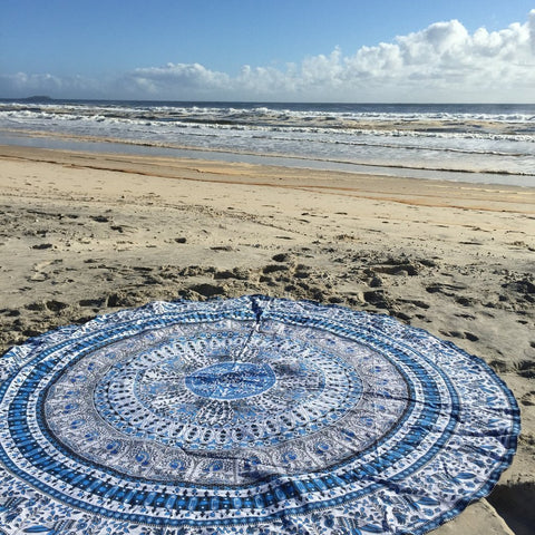 Chicloth Makes you Beautiful Beach Towel-Chicloth