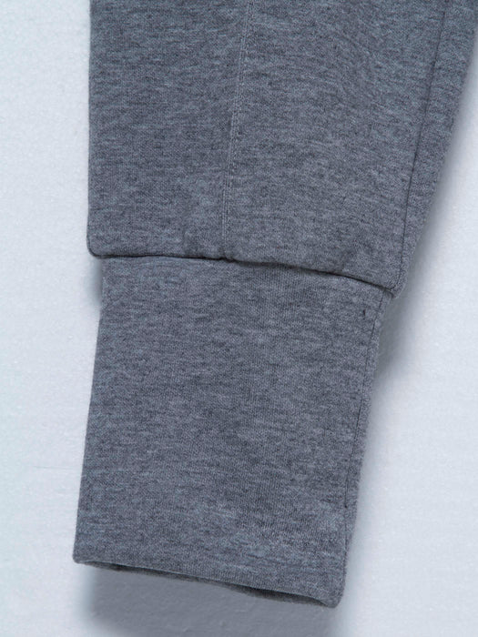 Chicloth Light Gray Tight Waist Sports Pants-New Pants 1703-Chicloth