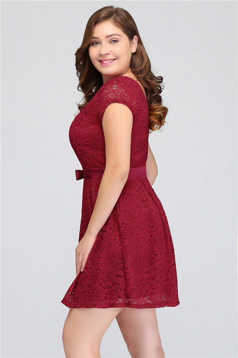 A| Chicloth Backless Women Bodycon Evening Formal Dress Plus Size Dresses-Plus size dresses-Chicloth