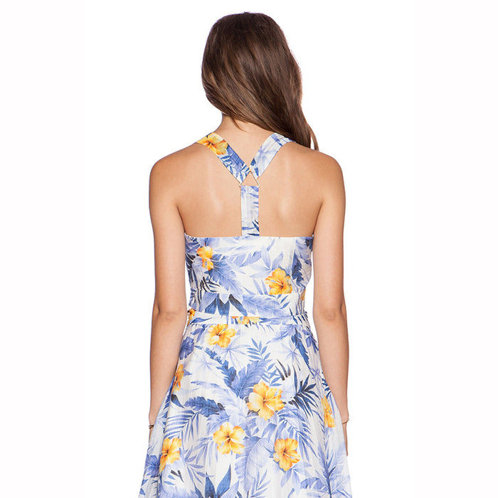 Chicloth Two piece Sexy Floral Dress-Chicloth