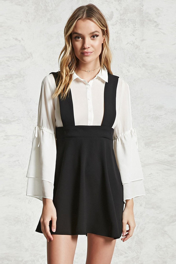 Chicloth Long Sleeve strap dress-Chicloth