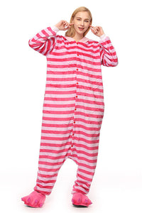 Chicloth Cheshire Cat Women One Piece Cosplay Clothing Pajamas