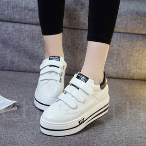 A| Chicloth Casual Velcro Summer Skateboard Shoes For Women