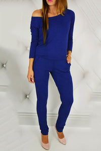 A| Chicloth Long Sleeves Overalls For Women Rompers Jumpsuits
