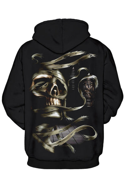 B| Chicloth Men/Women Sweatshirt Hooded Clothing Cap Hoody Print Paisley Nebula Jacket-sweatshirts-Chicloth