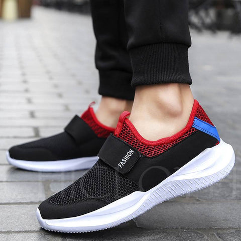 A| Chicloth Breathable Mesh Shoes Men's Plus Size Sneakers