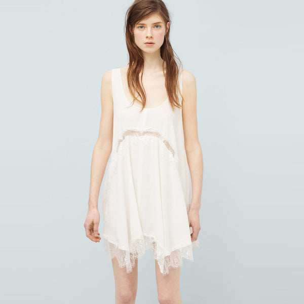 Chicloth Summer Time White Causal Mini Dress