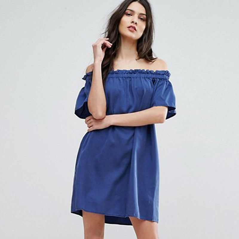 Chicloth Off The Shoulder Mini Dress-Chicloth
