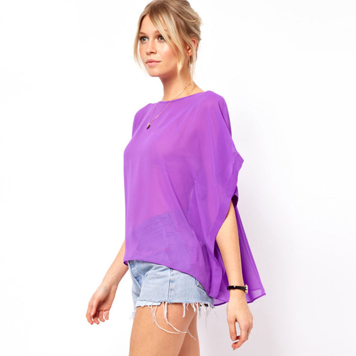 Chicloth Loose style See-through Top-Chicloth