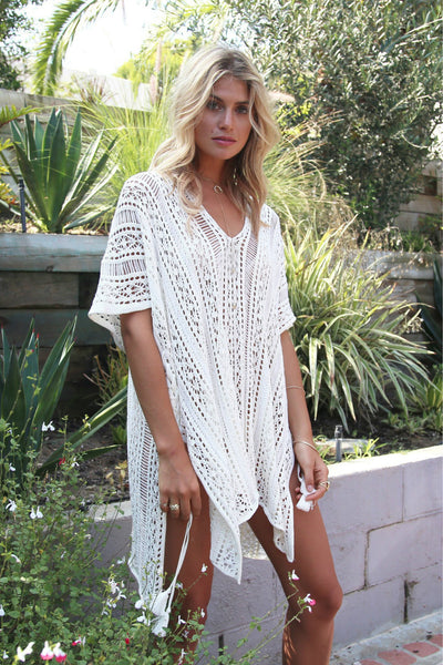 A| Chicloth All Colors Beachwear Beach Cover Ups - Chicloth