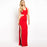 Chicloth Simple Cut-out Evening Dress-Chicloth