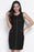 Chicloth Simple Style Little Black Dress-Chicloth