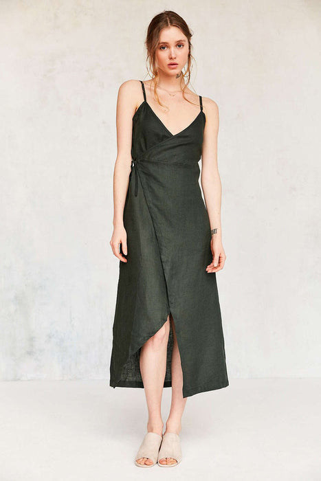 Chicloth Sling V-neck Dress-Chicloth