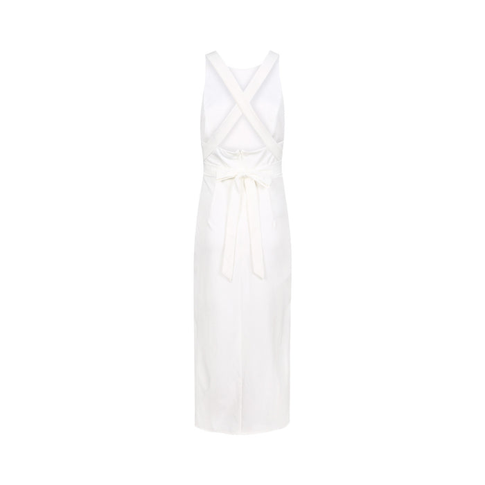 Chicloth Backless White Bodycon Dress-Chicloth