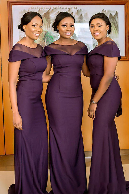 Chicloth Maid Of Honor Plus Size Bridesmaid Dresses