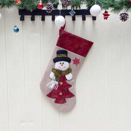 C| Chicloth Christmas Stocking Gift Bag (2 Pics)-Christmas Accessories-Chicloth