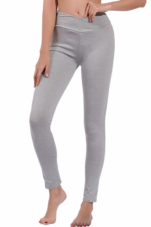B| Chicloth High-Waisted Solid Legging-Sport Pants-Chicloth