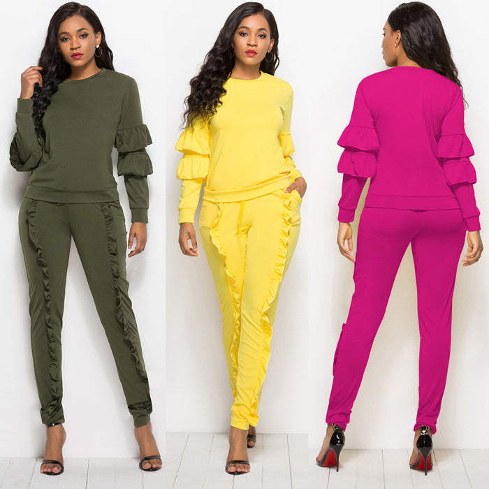 B| Chicloth Yellow Ployester Sexy Jumpsuits-Jumpsuits-Chicloth