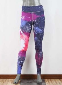Sexy Women Slim Sport Yoga Leggings Special Print Skinny Pencil Pants Trousers
