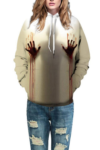 B| Chicloth Graphic 3D Print Long Sleeve Hoodie Halloween Costumes-Halloween Costumes-Chicloth