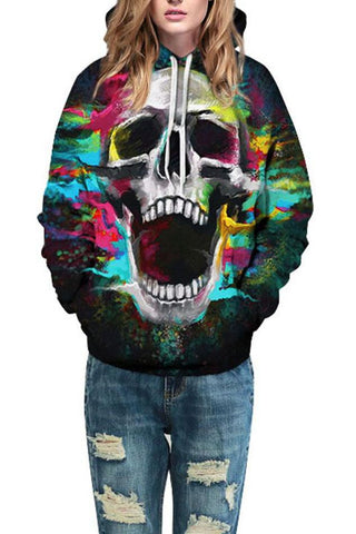 B| Chicloth 3D Print Long Sleeve Hoodie Coat Jacket Sweatshirt Halloween Costumes-Halloween Costumes-Chicloth