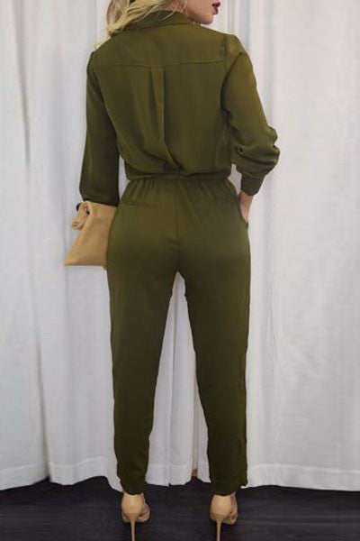 Chicloth Army Green Sleeve Jumper