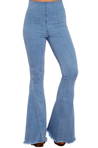 Z| Chicloth Blue Flare Jeans