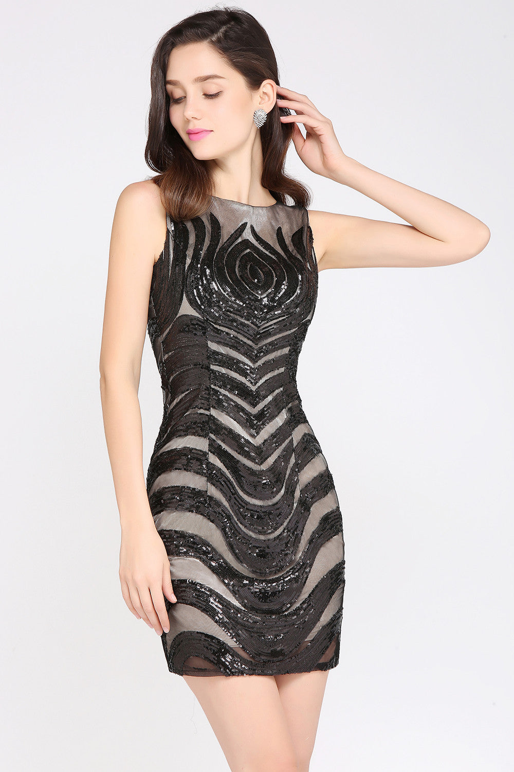 Chicolth Only The Lonely Cocktail Dress-Dresses-Chicloth