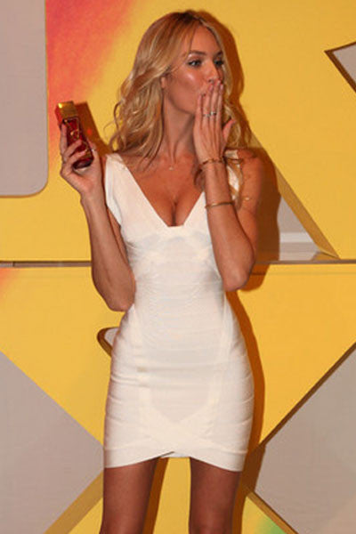 Chicloth Celebrity Hot-selling White Bandage Dress