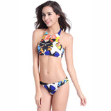 Chicloth Butterfly Girl Tank Bikini Set