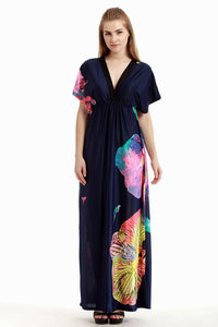 Chicloth Cotton Field Sexy Plus Size Maxi Dress-plus size-Chicloth