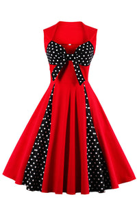 Chicloth God is a woman Bow Vintage Dress-Dresses-Chicloth
